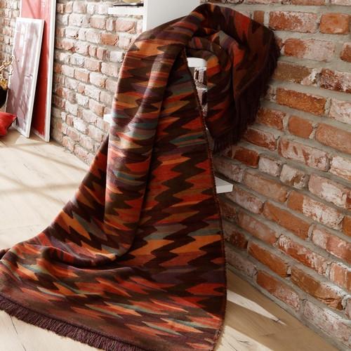 Biederlack Fransendecke - Visiona Cotton Plus - Marokko