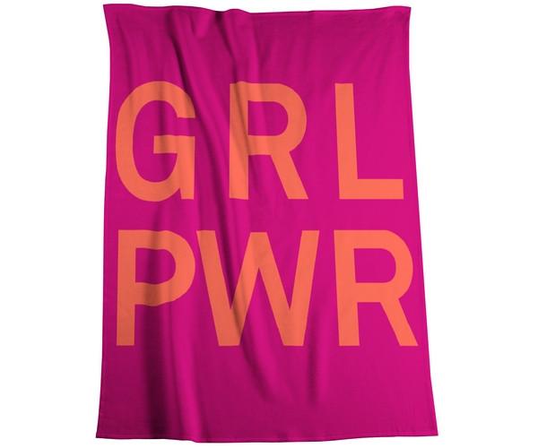 Biederlack Kinderdecke - Girl Power