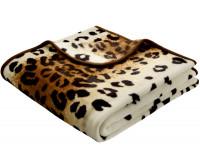 Biederlack - De Luxe - Leopard - 220 x 240 cm