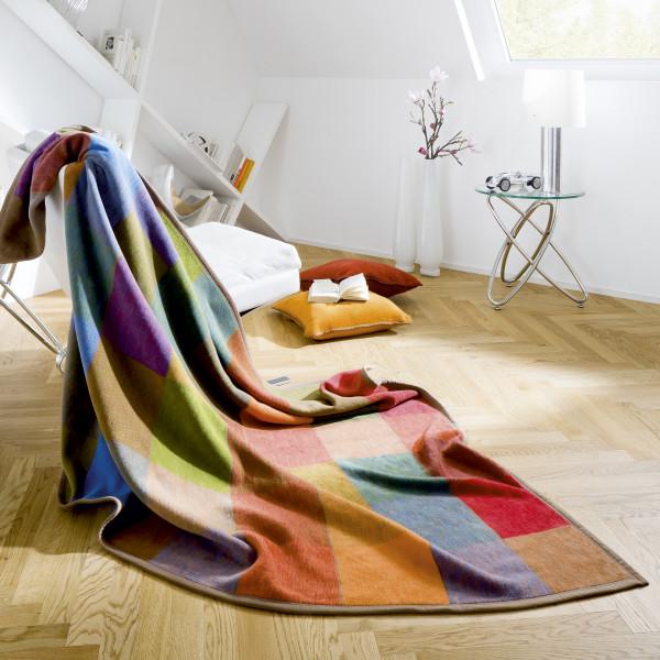 Biederlack Baumwolldecke - Colourmix