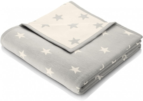 Biederlack - Orion Cotton - Texas Stars silber