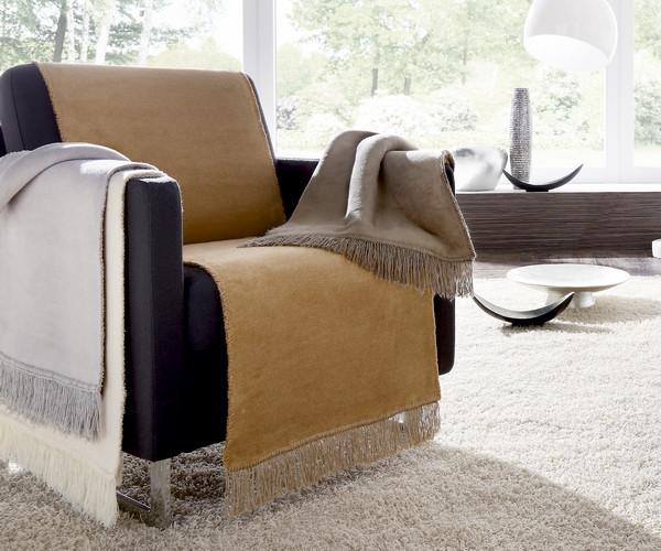 Biederlack - Sesselschoner - Cotton Cover Uni - 100 x 200 cm