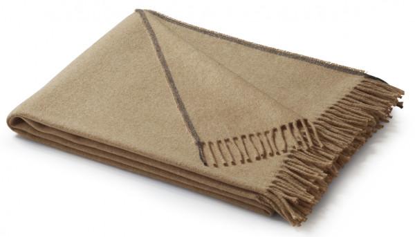 Biederlack Plaid - Kamel