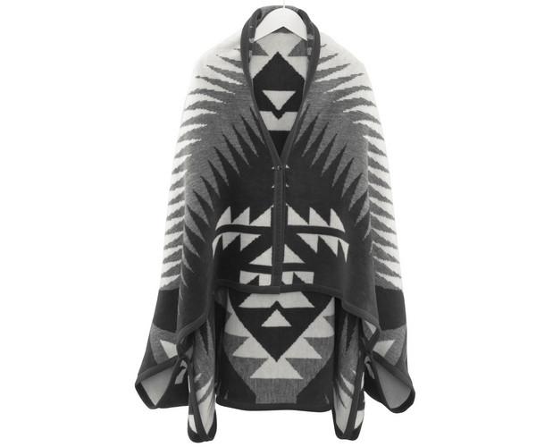 Biederlack Wohnmantel - Orion Cape - Ikat Style